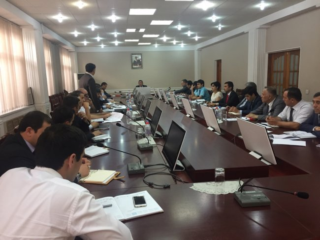 Meeting of the Board of the Ministry dedicated to the issues of the development of free economic zones in the country