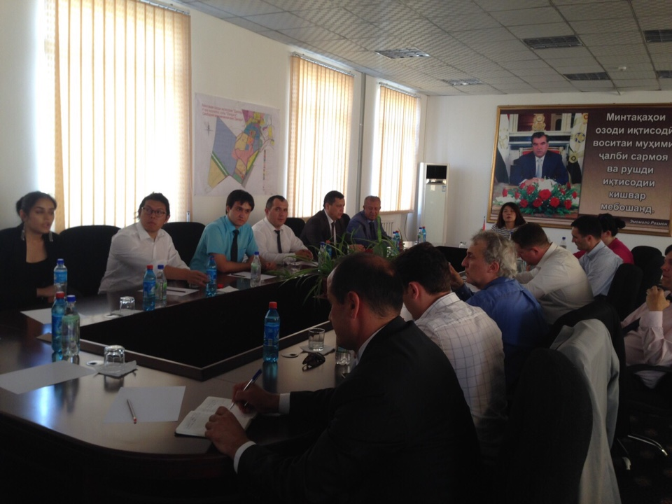 Visit of trade delegation from USA companies to the free economic zone of