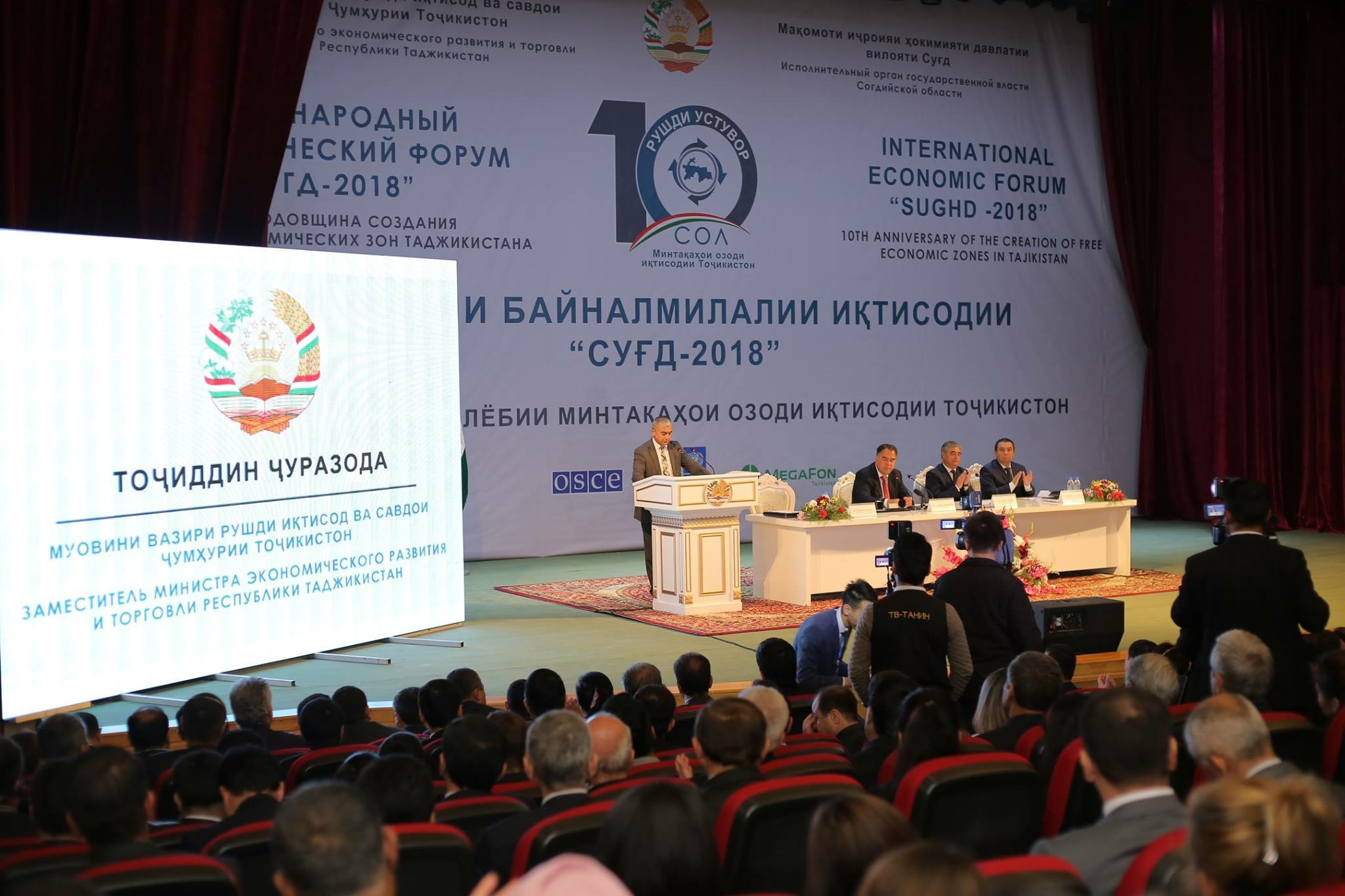 Outcomes of International Economic Forum