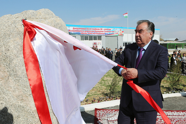 Working trip to Khujand city of Sughd Region