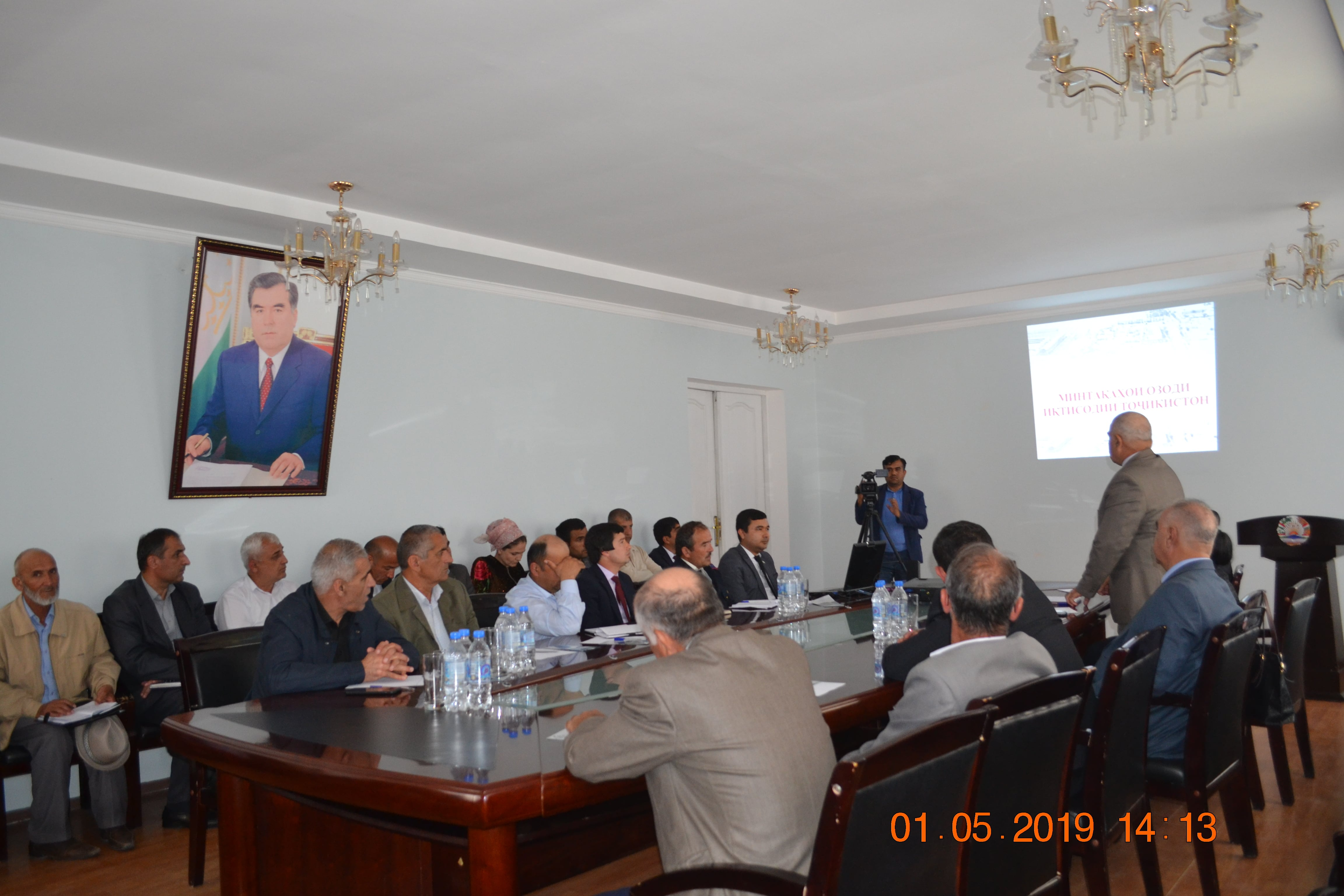 Working visit of representatives of the Ministry of Economic Development and Trade to the city of Kulob<