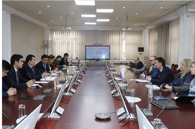 In the FEZ of Tajikistan want to create joint ventures with organizations Saint Petersburg<